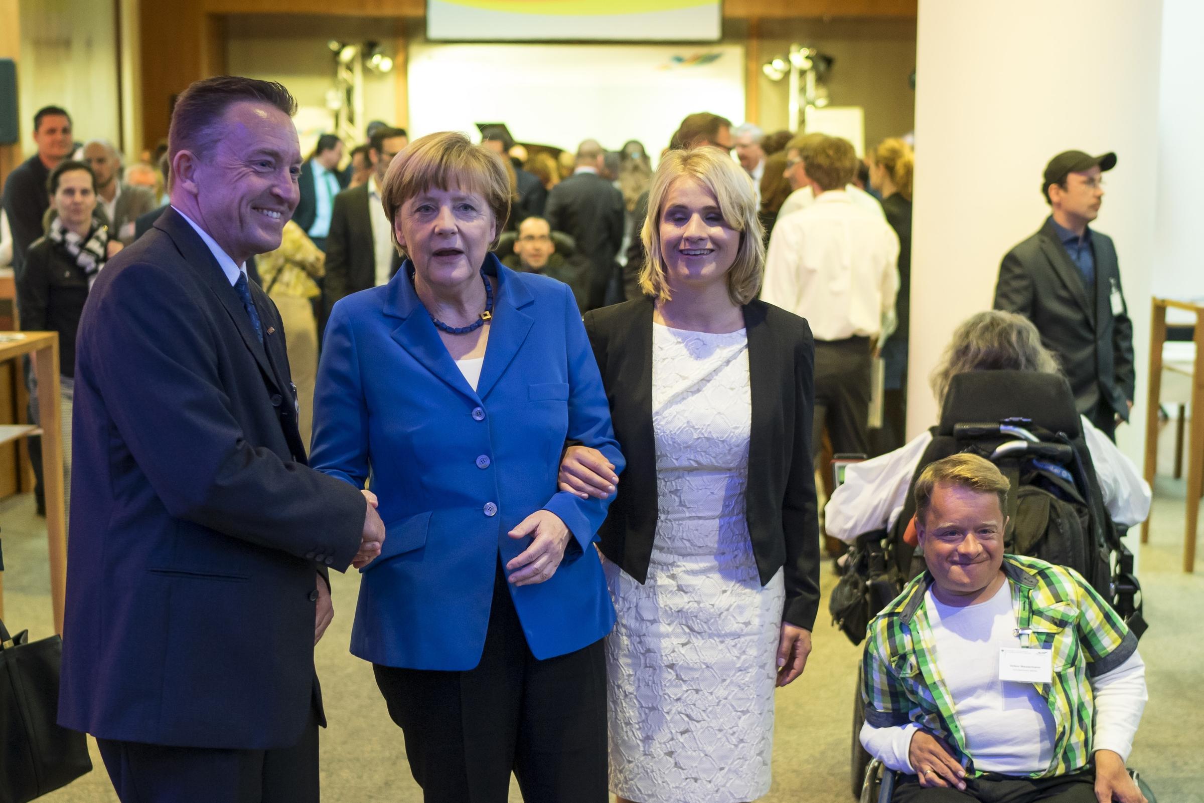 Jahresempfang 2015 der Behindertenbeauftragten Verena Bentele © Henning Schacht